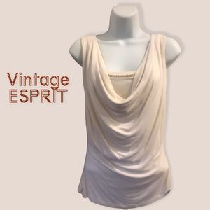Esprit brand   faux layer look tank
